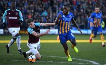 Prediksi West Ham United vs Shrewsbury United 17 Januari 2018